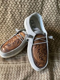 New (never used), Custom leather hey dudes shoes available to order. Any design, style, color and size. Pricing starts at $150. Make an offer!