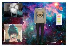 """""""."""" by oosammyoo on Polyvore featuring Mode, Current/Elliott, WearAll, Converse und Kate Spade"""