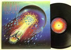 stores.ebay.com/capcollectibles Journey - Escape Columbia TC 37408 Embossed Original Vinyl, Record, LP, Album