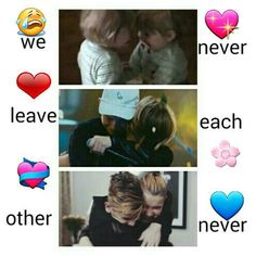 We have aqually only been once apart ❤❤
