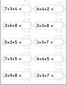 printable kindergarten worksheets free math for kids Dyslexia Activities, Mental Maths Worksheets, Math Coloring Worksheets, Letter Worksheets For Preschool, Free Kindergarten Worksheets, Printable Activities For Kids, Free Printable Worksheets, Preschool Math, Teaching Math