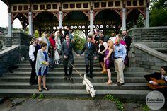 Wedding at Belvedere Castle, Central Park, NY Photograph by FOTOVOLIDA Wedding Photography #wedding #CentralParkWedding