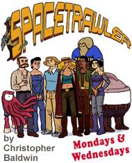 Spacetrawler - An excellent sci-fi comic series! It's been going on a very long time and I enjoy it tremendously.