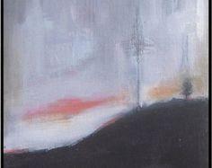 * Original pintura sobre panel de lienzo. Hay un montón de capas de color que hace una textura agradable medio: acrílico Dimensiones: 7 x 9 (18 x 22