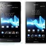 Sony announced Xperia go and Xperia acro S