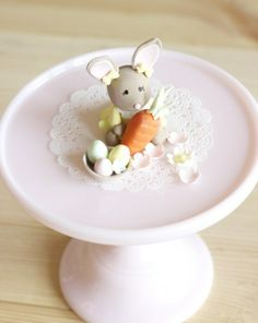 Little easter-mouse as a Bunny by petite homemade