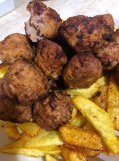 Κεφτεδάκια φανταστικά !!!! ~ ΜΑΓΕΙΡΙΚΗ ΚΑΙ ΣΥΝΤΑΓΕΣ 2 Tandoori Chicken, Ethnic Recipes, Food, Essen, Meals, Yemek, Eten
