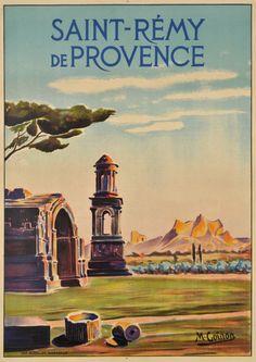 Saint-Rémy de Provence - Vintage Posters - Galerie 123 - The place to find vintage art