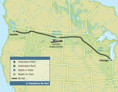 Empire Builder Experience - Chicago to Seattle