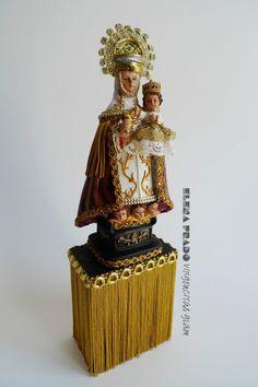 Virgen de Covadonga LED.Elena Prado