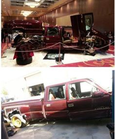 . Abandoned Cars, Abandoned Vehicles, Dually Trucks, Damaged Cars, Sad Pictures, Rusty Cars, Car Crash, Barn Finds, Lowrider