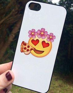 Iphone 5 5S Phone Case Emoji Icons Faces Print by StudsandSkulls #emoji #iphonecase $16.21 USD