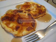 """""""French Toast"""" made with Oopsie Improved Revolution Rolls (http://genaw.com/lowcarb/improved_revolution_rolls.html) 1 carb each"""