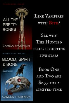 Like vampires with bite? Enjoy heroines who triumph under pressure? Check out The Hunted. http://amzn.to/1OaZVVN  Sale ends 4/2/16.