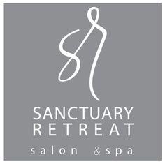 Sanctuary Retreat Salon and Spa logo designed by Charis Rountree at Rountree Design Co. https://www.tylerrountree.com  #design #business #branding #logo
