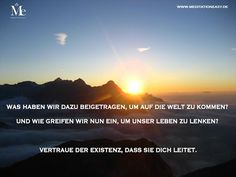 Lasse los, vertraue und sei. Geführte Meditationen dazu findest du im Meditation Easy Online Programm auf www.MeditationEasy.de