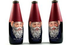 Norsk Ol Packaging Includes Fetching Folklore Refrences #movember trendhunter.com