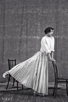 Kim Yuna for Vogue Korea June 2014