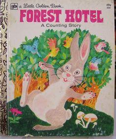 FOREST HOTEL A COUNTING STORY by Barbara Davis (1972), http://www.amazon.com/dp/B000IOIAA0/ref=cm_sw_r_pi_dp_MB7wrb1T7PKBE