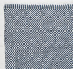 Provence Navy Rug (outdoor rug)