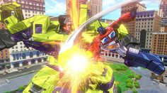 The Aubots and Decepticons get a not-so new paint job in Transformers: Devastation, which was announced at E3 by Platinum Games (Bayonetta).   The character designs are based on the Transformers: Generation 1 cartoon and comics by IDW but its authenticity is more than meets the eye. Many of the original voice actors reprise their roles.  http://l7world.com/2015/06/transformers-devastation-trailer-is-retro-eye-candy.html
