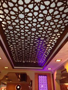 سقف خشب
