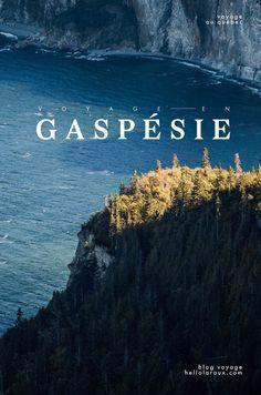 voyager en Gaspésie : une belle région maritime du Québec (Canada) ! Yoho National Park, Parc National, Canadian Travel, Canadian Rockies, Travel Around The World, Around The Worlds, Quebec City, Parcs, Canada