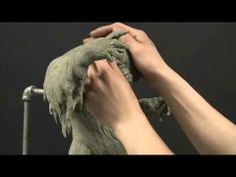 Sculpting Stylized Characters with David Meng-Sculpted w/Chavant not ceramic clay, but nicely done!