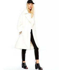 Oversized Coat via @WhoWhatWear
