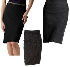 I need a new black pencil skirt.