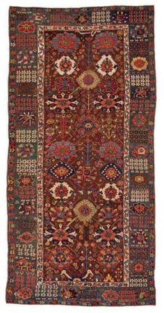 Saujbulag 394 x 193 cm, Persia, 18th century