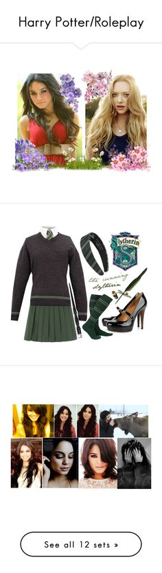 """""""Harry Potter/Roleplay"""" by infinitydirection on Polyvore featuring art, Gucci, Uniqlo, Alice + Olivia, ONLY, Lancôme, Forever 21, Maine New England, Hobbs and Charlotte Russe"""