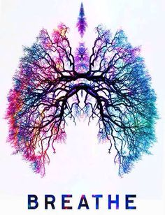 Just #breathe and fill your #lungs with a rainbow