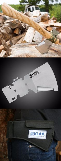 Feller KLAX - The Versatile Light-Weight Multi-Tool Axe from Klecker Knives