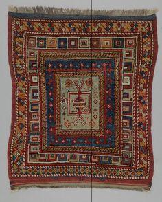 rug Turkey DATE: 1880 - 1920 DIMENSIONS: L 103 cm x W 90 cm
