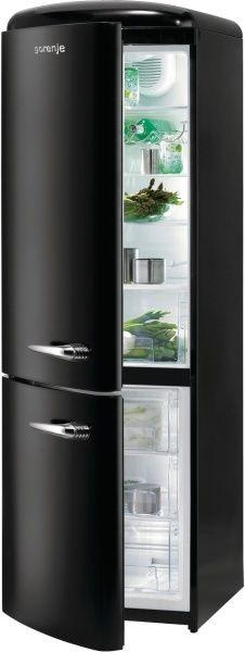 Комбиниран хладилник Gorenje RK60359OBK-L - 342л.
