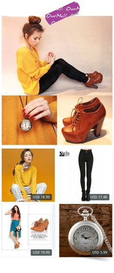 This is Wioletta Mary Kate's buyer show in OurMall;  1.winter all-match solid color o-neck solid color basic long-sleeve sweater loose 2.2016 Ladies Long Trousers Newest Women's Fashionable Pockets Button Fly 3.new fashion women boots  ankle boots winter women lady sexy 4.Quartz Po... please click the picture for detail. http://ourmall.com/?2amQzy #sweater #sexysweater #sweaterforwomen #sweaterforgirls #springsweater #puresweater #cutesweater #refashionsweater