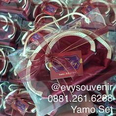 Dompet Yamo Set kemasan box mika, warna dompet bisa request, PO 6-8mgg  Rp…