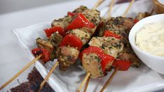 The best cooking recipes, for dinner lunch and special events. Exclusive Marilyn Denis recipes and cooking tips. Middle Eastern Dishes, Middle Eastern Recipes, Popular Greek Food, Marilyn Denis Recipes, Christine Cushing, Cooking Recipes, Healthy Recipes, Cooking Tips, Chicken Souvlaki