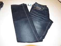 Womens COOGI Jeans Authentic Sexy Denim designer embellished  9/10 blue NWT# #COOGI #Jeans