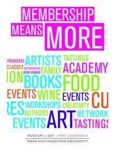 brochure art museum | Printable Membership Brochure - Museum of Art