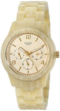 Guess W13572l2 Ladies Mini Spectrum Cream Plastic Bracelet Watch GUESS http://www.amazon.com/dp/B004L4XCCE/ref=cm_sw_r_pi_dp_Ov-Sub09CV9B3