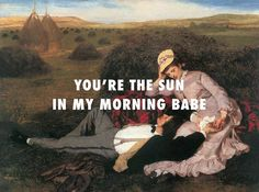 Nothing unwanted Lovers (1869), Pal Szinyei Merse / Father Stretch My Hands Pt. 1, Kanye West ft. KiD CuDi