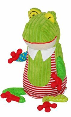 The Deglingos Plush Toy, Croakos The Frog by All New Materials. $29.99. From the Manufacturer                Original Deglingos Croakos the Frog Plush Toy. The Deglingos are french designed plush toys for the modern family.                                    Product Description                The Deglingos Original Croakos The FrogOriginal Deglingos Croakos the Frog Plush Toy. The Deglingos are french designed plush toys for the modern family.