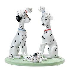 Buy Disney Magic Moments 101 Dalmatians Figurine at Argos.co.uk - Your Online Shop for Ornaments, Ornaments.