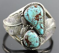 Tom Willeto Navajo Sterling Silver & Turquoise Bracelet Interior in Jewelry & Watches, Ethnic, Regional & Tribal, Native American Navajo Jewelry, Southwest Jewelry, Western Jewelry, Boho Jewelry, Jewelry Art, Vintage Jewelry, Vintage Turquoise Jewelry, Glass Jewelry, Bracelets En Argent Sterling