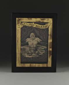 Shadowbox Drawings etched in 22 K Gold Leaf and oil painted in reverse on glass (verre eglomise) by Carrie Battista....see more at carriebattista.com