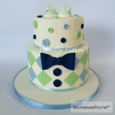 Pitas cake & # s - Foot and Drink Baby Boy Birthday Cake, 1st Birthday Cake Topper, First Birthday Cakes, Beautiful Cakes, Amazing Cakes, Flower Cake Design, Cake Design Inspiration, Cake Stock, Cupcakes For Boys