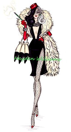 Hayden Williams Fashion Illustrations: October 2012