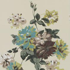 portier - travertine wallpaper | Designers Guild